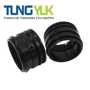 Black Oxide Aluminum Rings by CNC Machine