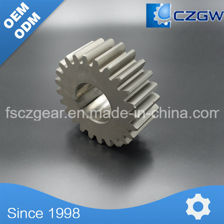 High Precision Customized Transmission Gear Spur Gear for Tractor Trailer and Heavy Duty