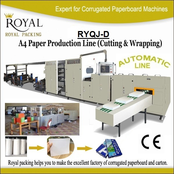 A4 Paper Cutting and Packaging Production Line