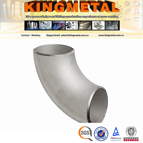 Sh3408 / Sh3409 Seamless Stainless Steel Elbow 45 Long Radius.