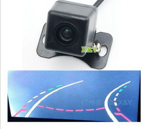Rearview Camera with Dynamic Parking Line