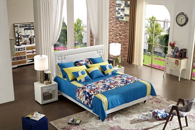 Beautiful Home Furniture Bed with Modern Design (Jbl2007)