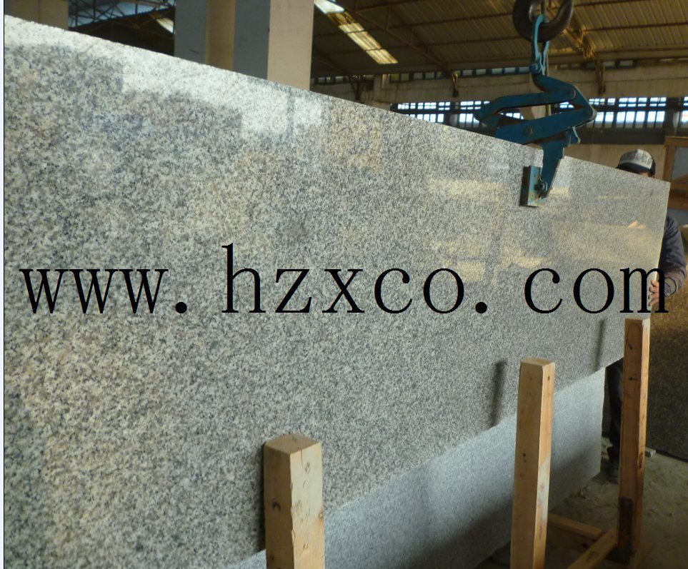 G640 Bianco Sardo Granite Natural Stone Slab for Decoration
