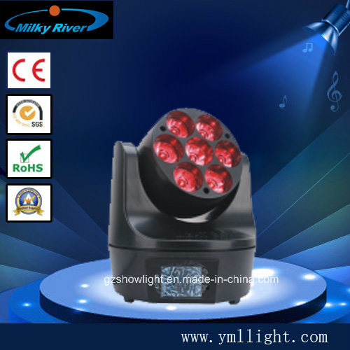 DJ Light Moving Light, 7PCS LED Bee Eye Moving Head/ LED Uplights/Guangzhou Lighting