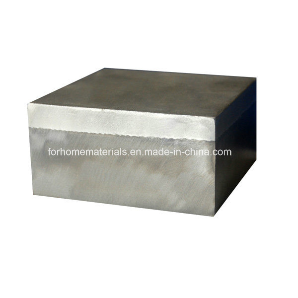 Aluminum/Steel Explosive Welded Block Transition Joint for Shipbuilding and Ship Repair