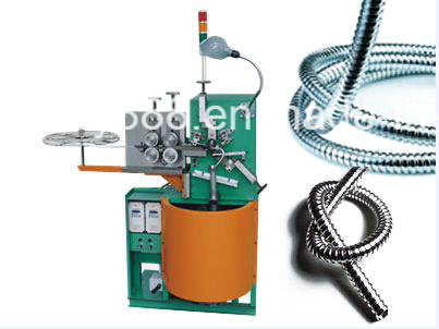 Double Locked Flexible Metal Tube Forming Machine