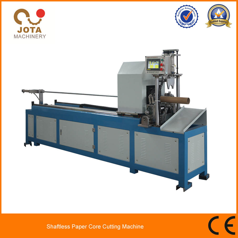 High Speed spiral Kraft Paper Tube Pipe Cutting Machine