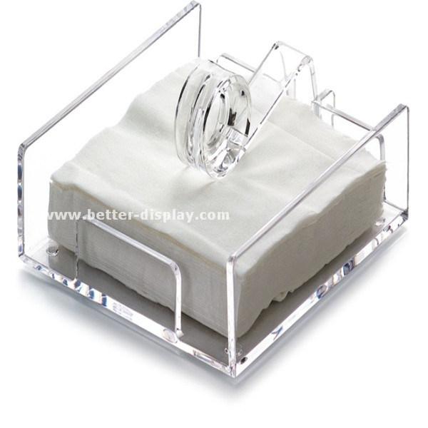 Acrylic Clear Plastic Napkin Holder