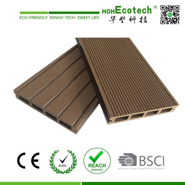 Waterproof Easy Assembly WPC Floor Decking (150H25-C)