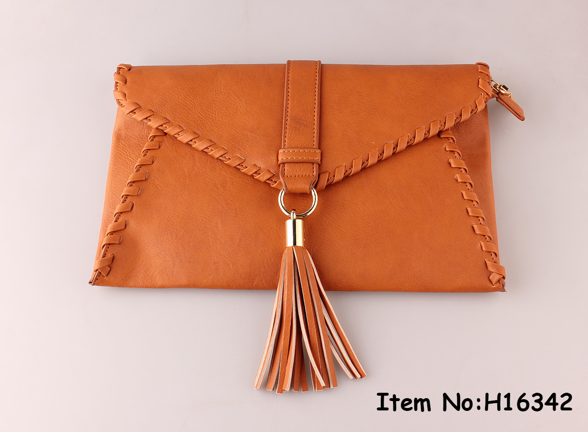 2017 Latest Clutch Bag with Tassel