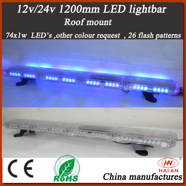 New Design Slim LED Lightbar with High Waterproof (TBD-GC-812L-C)