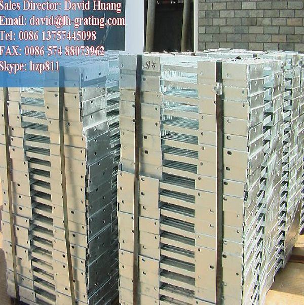 Untreated Steel Grating Without Any Coating Surface