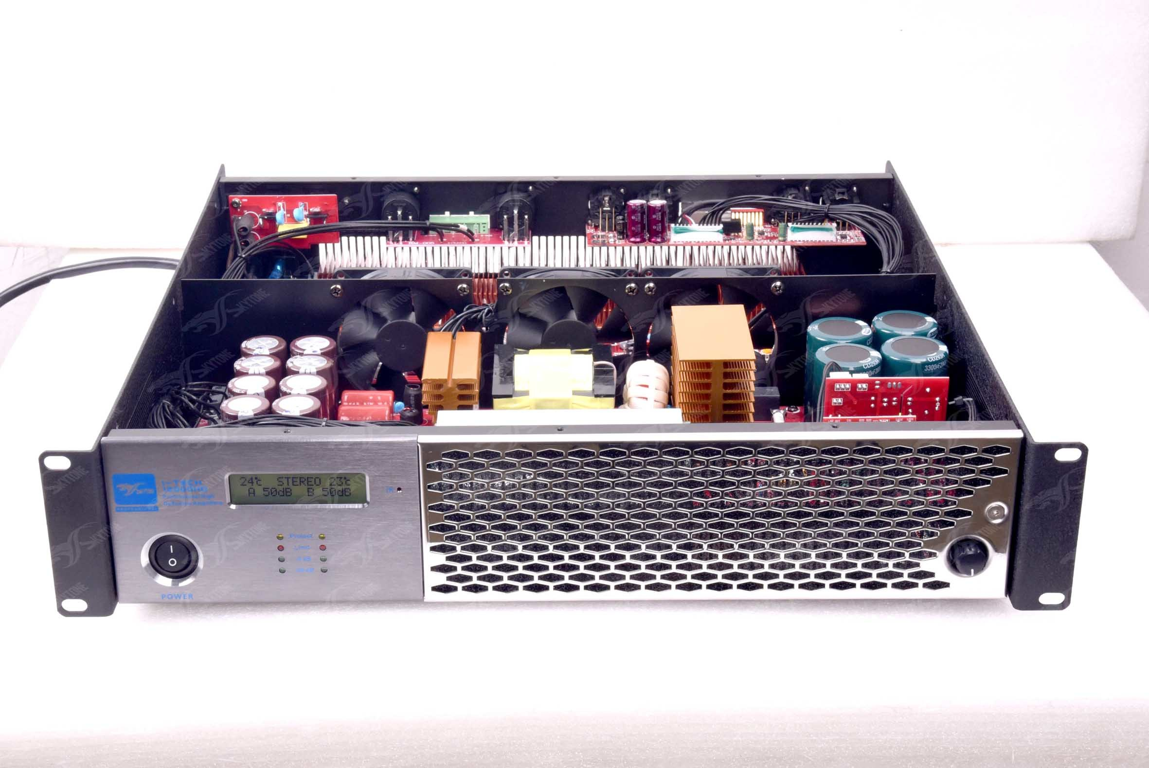 I-Tech12000 Class HD Extreme Professional High Power Amplifier