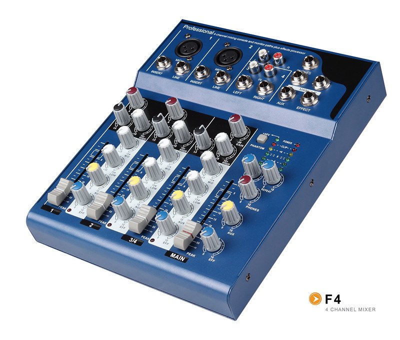 Mixer/Soud Mixer/Professional Mixer /Console/Sound Console/Brand Mixer /Mixing Console/F4