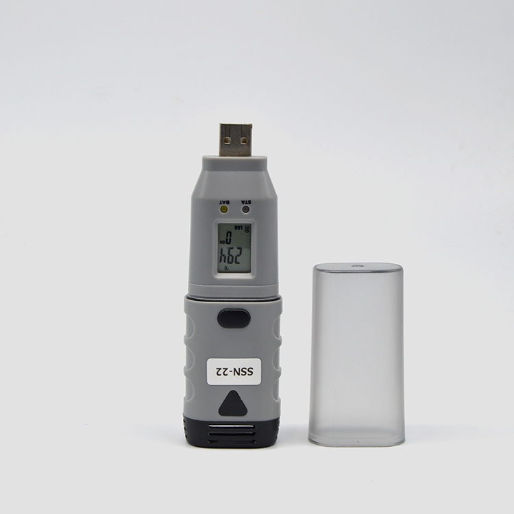Ssn-22, Temperature Data Logger with USB Interface and LCD, Humidity Data Logger, +/- 3%Rh