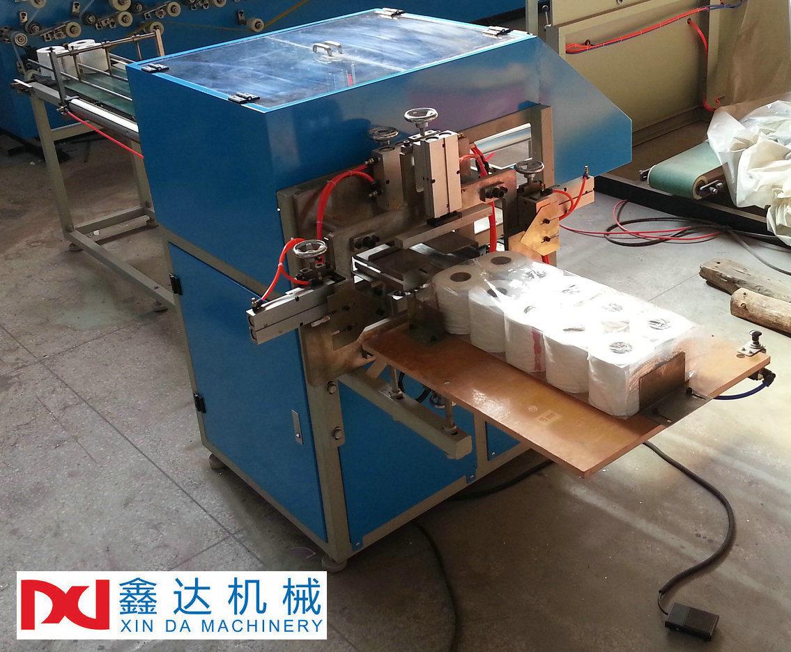 Semi-Automatic Paper Multi Rolls Packaging Machine
