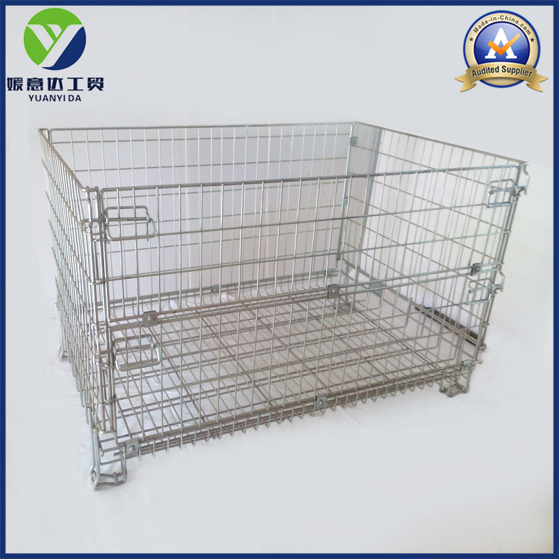 Hc3 Warehouse Metal Europe Wire Mesh Pallet Box Containersa (1200X1000)