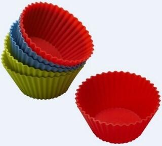 Silicone Round Cake Cup & Cake Mould &Bakeware FDA/LFGB (SY6602)