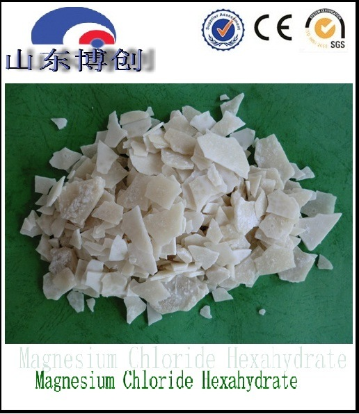 environmental Snow Melting Agent, White Flake Magnesium Chloride