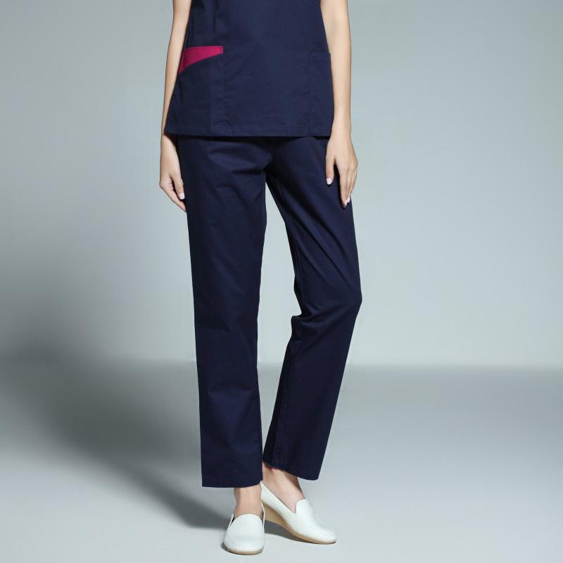 Wholesale V-Neck Medical Uniform Reversible Scrubs of Cotton
