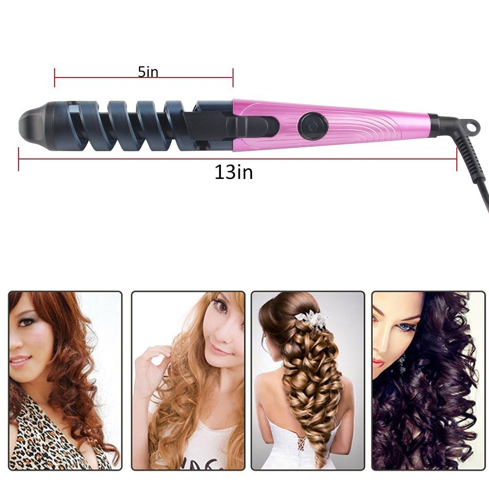 Automatic Magic Hair Curler with Steam Function for Hair Care
