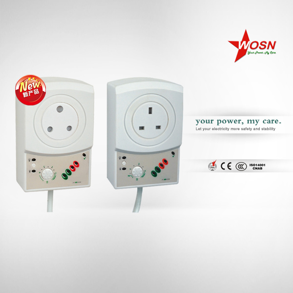 AC Single Phase 50/60Hz AVS 15A Voltage Protector