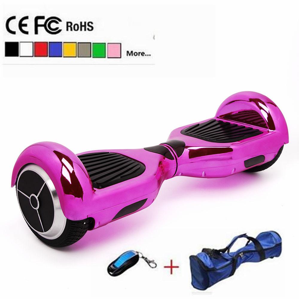 Hoverboard Bluetooth 6.5inch 2 Wheel Smart Balance Electric Scooter Self Balancing Skateboard Geroskuter