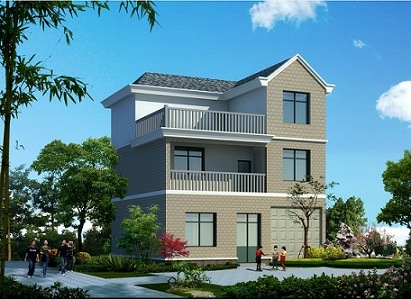Light Steel Structure Villa Prefabricated House Prefab Villa