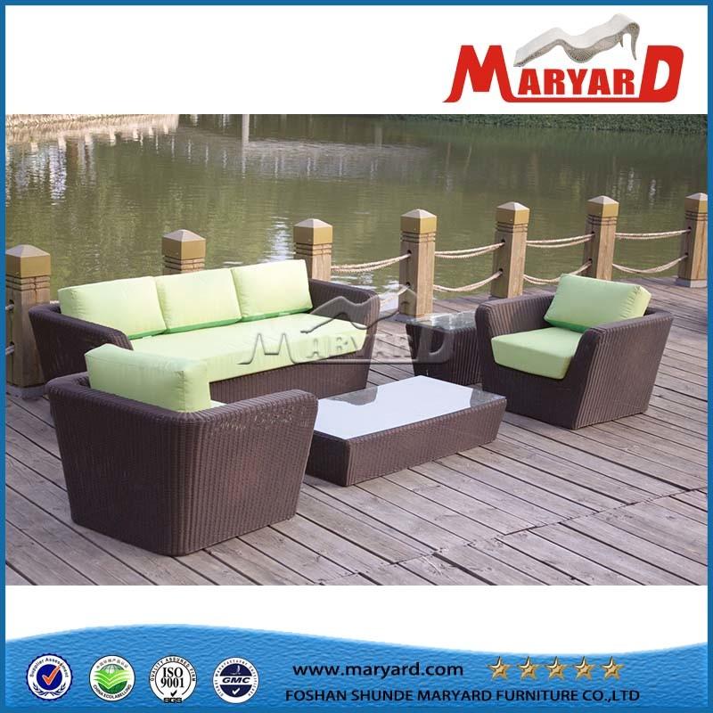 Outdoor Rattan Furniture Hotel Leisure Sofa