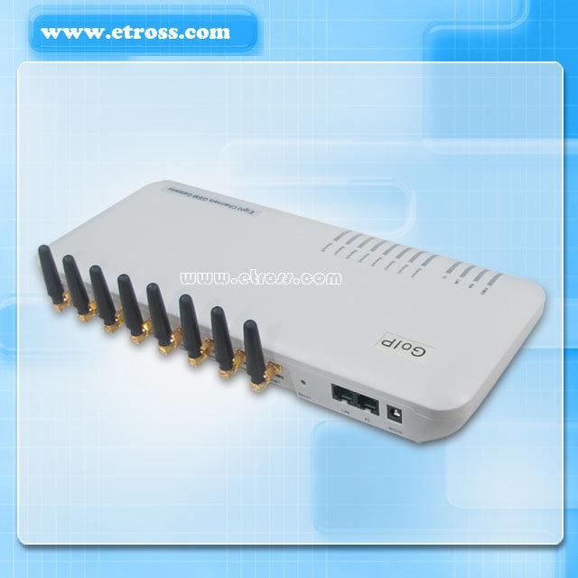Dbl 8 Ports GSM VoIP Gateway
