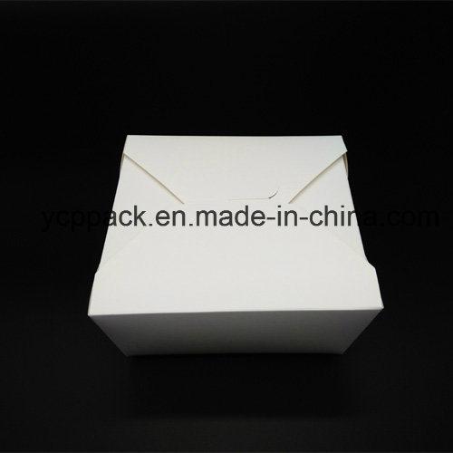 Disposable Kraft Printed Food Packaging Take out Box