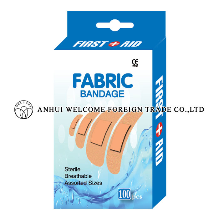 Fabric Bandage, Disposable Wound Plaster