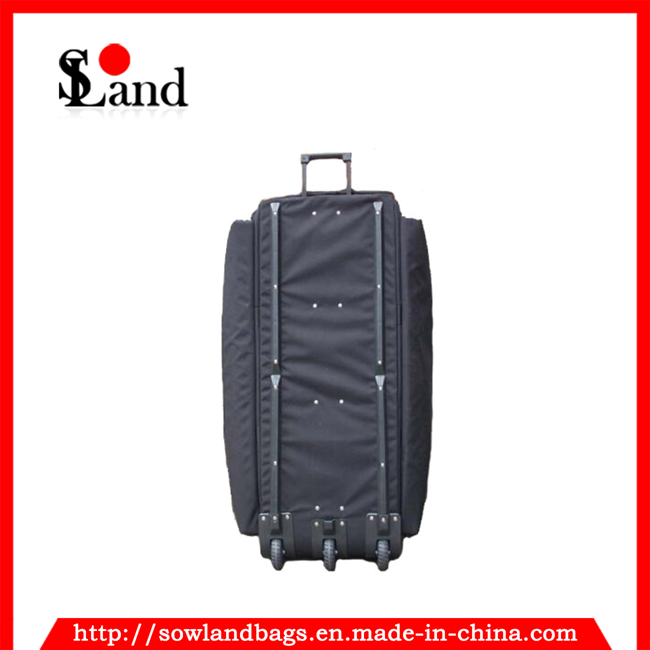 Black Military Navy Trolley Tool Bag