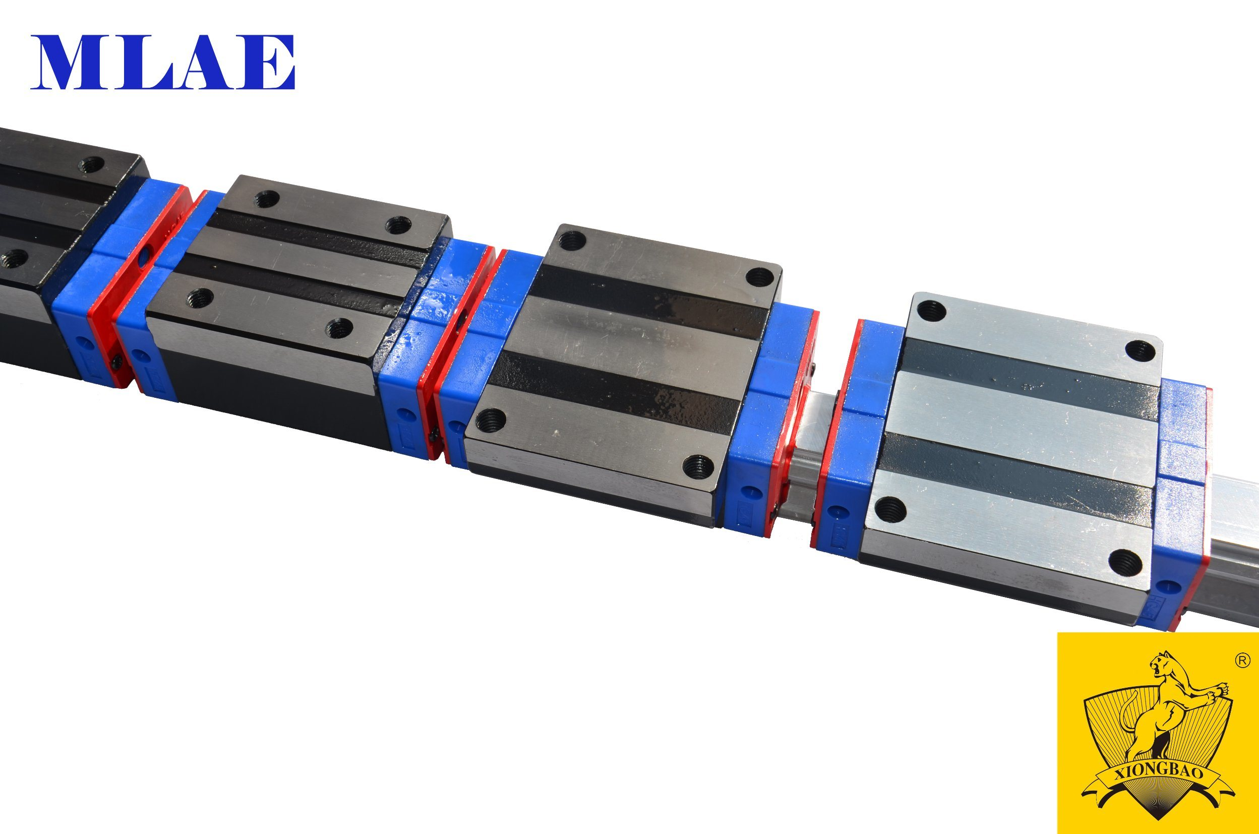 Mlae Xbd Flange Block Linear Guide