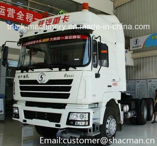 F3000 Shacman 6X4 Tractor Truck 380HP Weichai Power