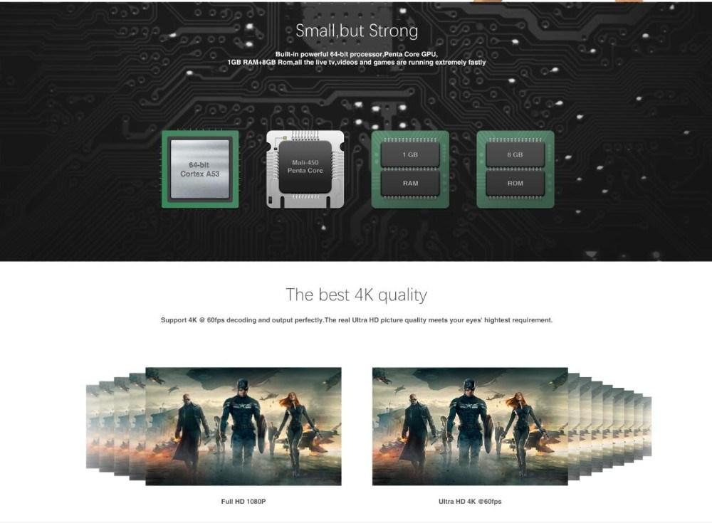 Ipremium IPTV/Ott Set Top Box with 3000+ Plus Channels Full HD & 3D