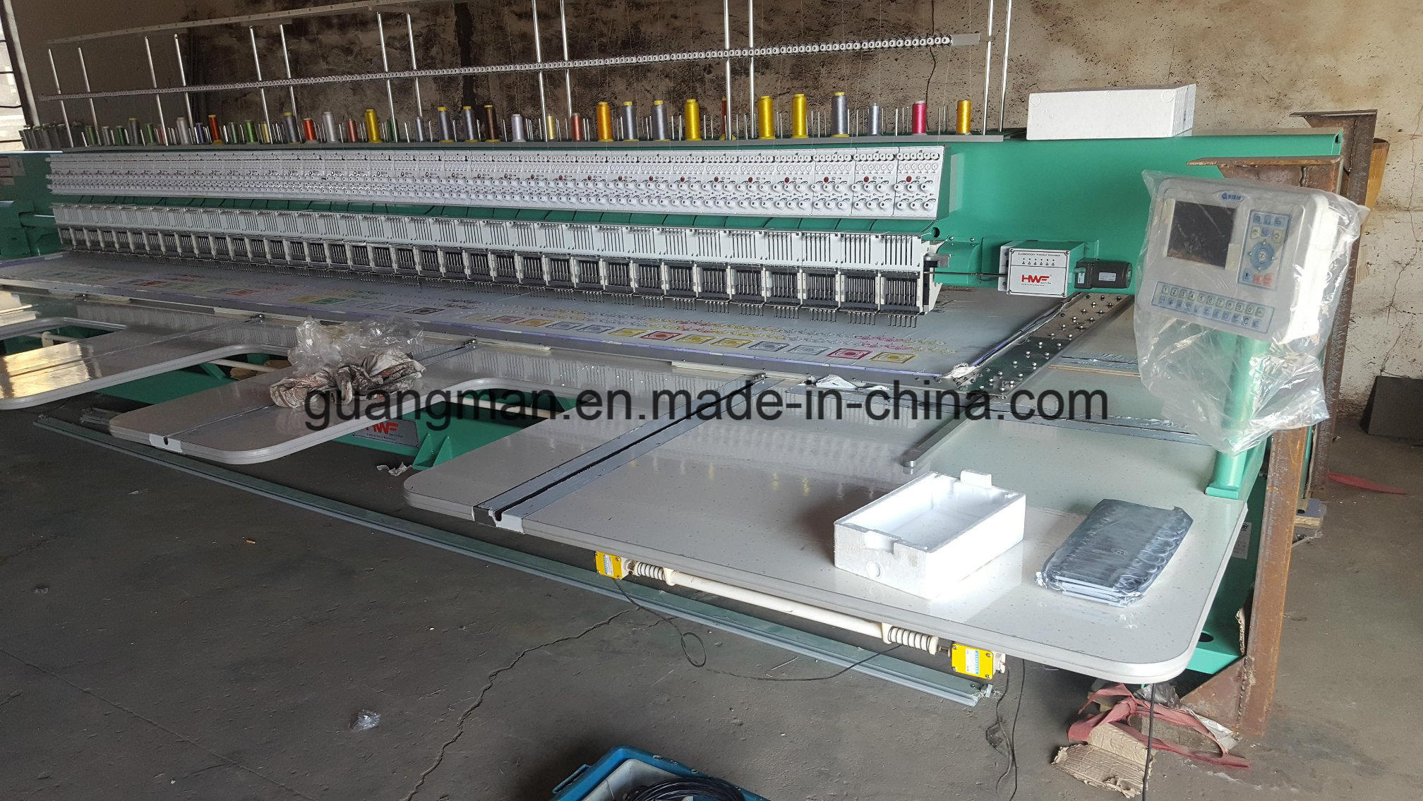 Hye-FL 636/125*550*1300 Flat Embroidery Machine