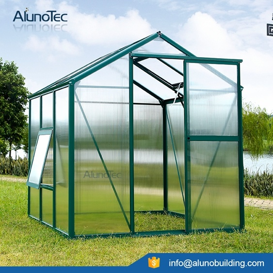 Strong Aluminium Greenhouse with Polycarbonate Sheets