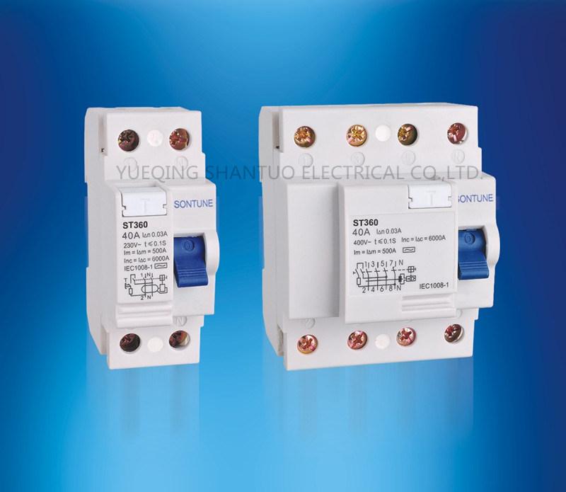 Sontune St360 Series RCCB Residual Current Circuit Breaker