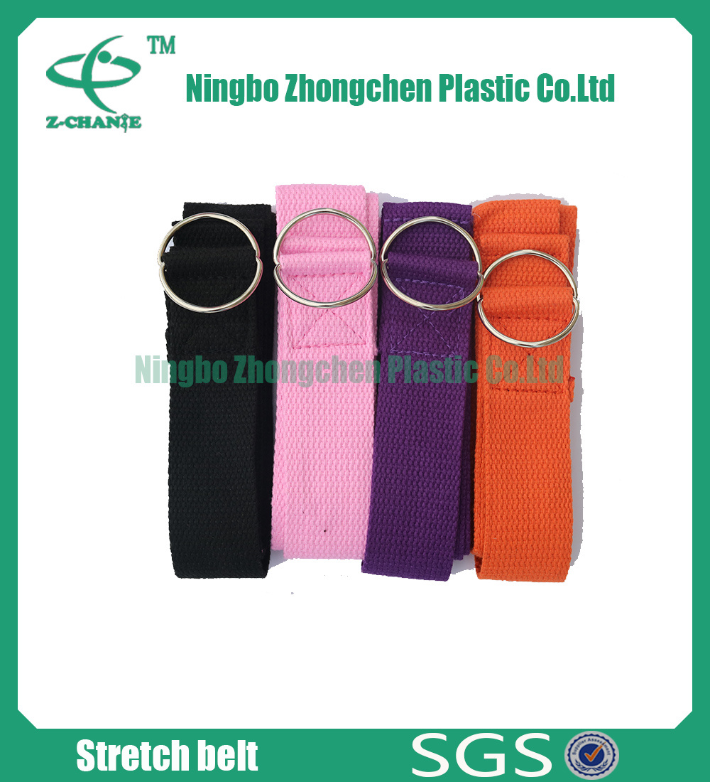 Cotton Pilates Yoga Stretch Band Yoga Strap
