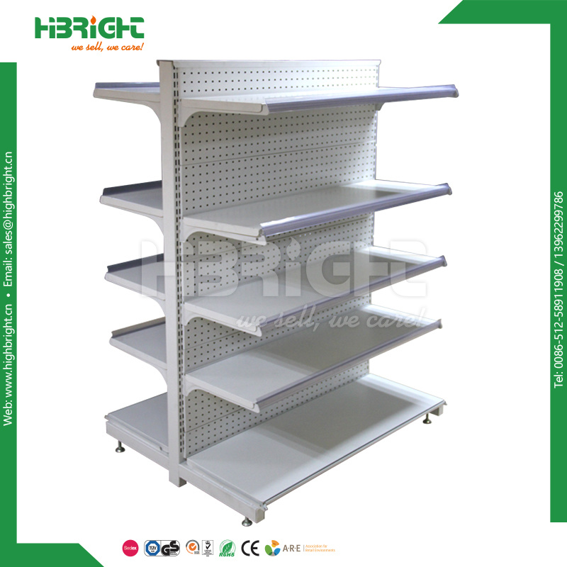Retail Store Display Rack Grocey Gondola Shelving Supermarket Shelf