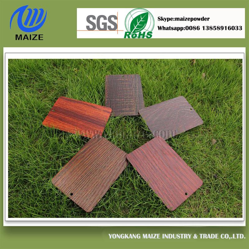 Special Wood Effect Powder Coating for Aluminium