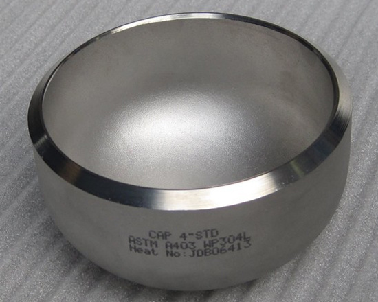 Hot Sale Butt Welding Pipe Cap Stainless Steel Pipe Fitting