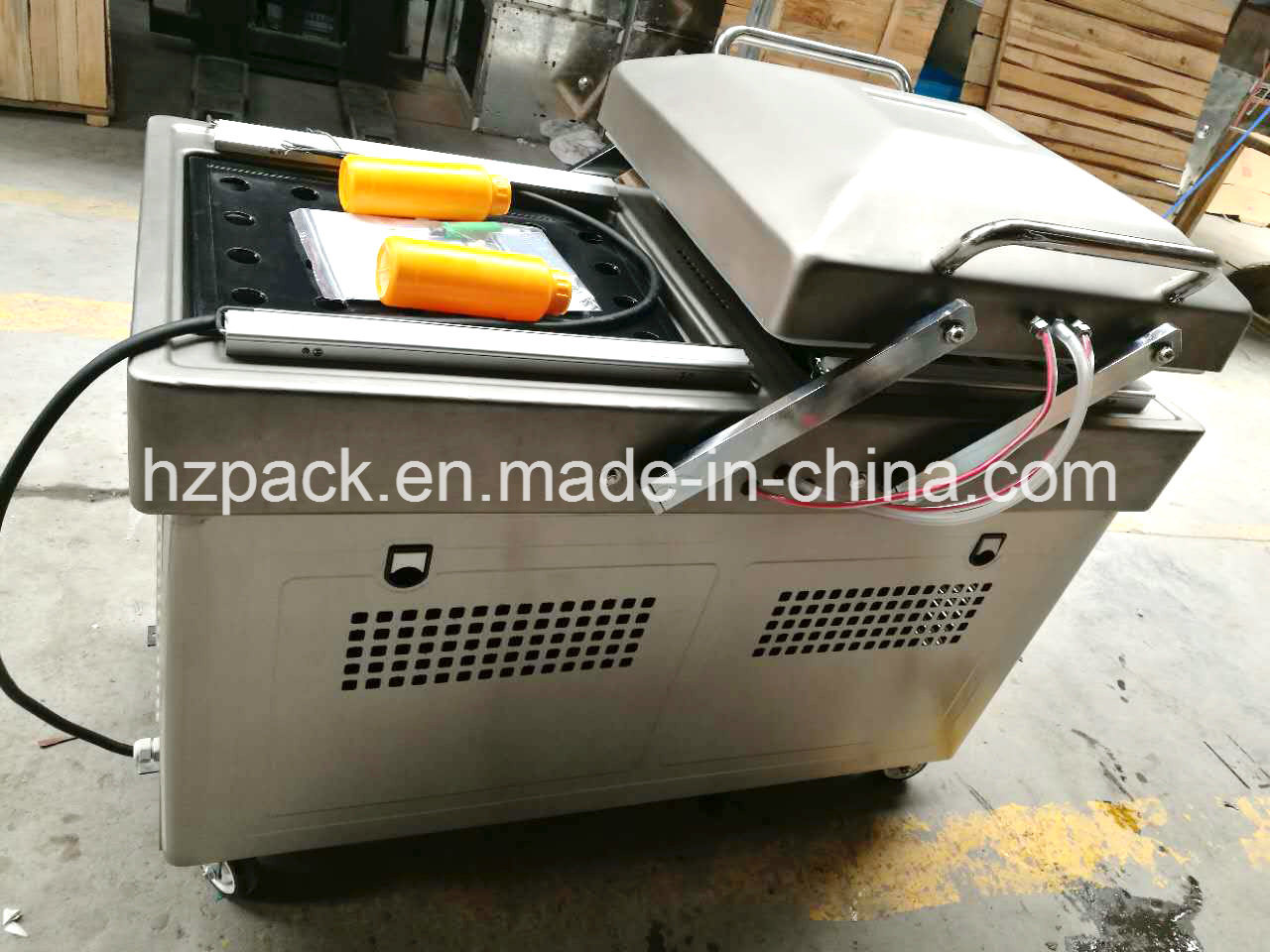 Dz-400/2s Double Chambers Vacuum Packer Packing Machine From China