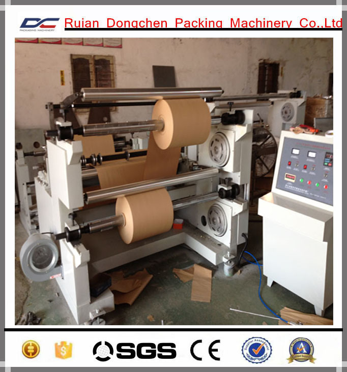Horizontal Type Paper Roll Slitting Rewinding Machine (DC-HF1100)