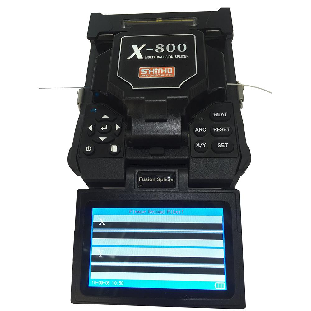 Shinho X-800 Core to Core Alignment Arc Fusion Splicer