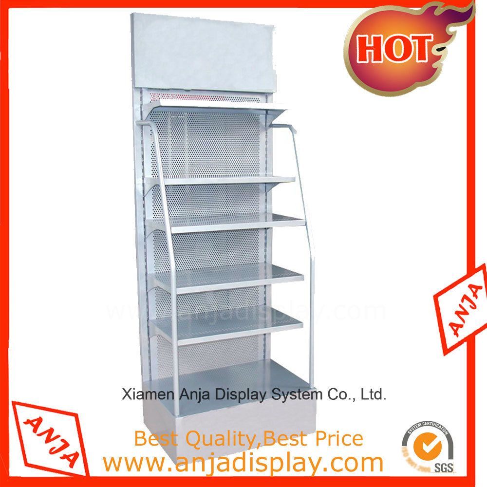 Metal Display Shelving for Retail Stores