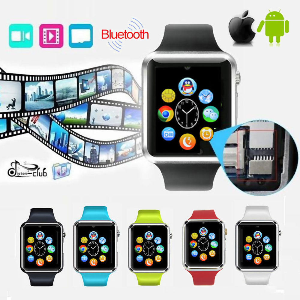 Newest Bluetooth Smart Watch Cell Mobile Phone A1