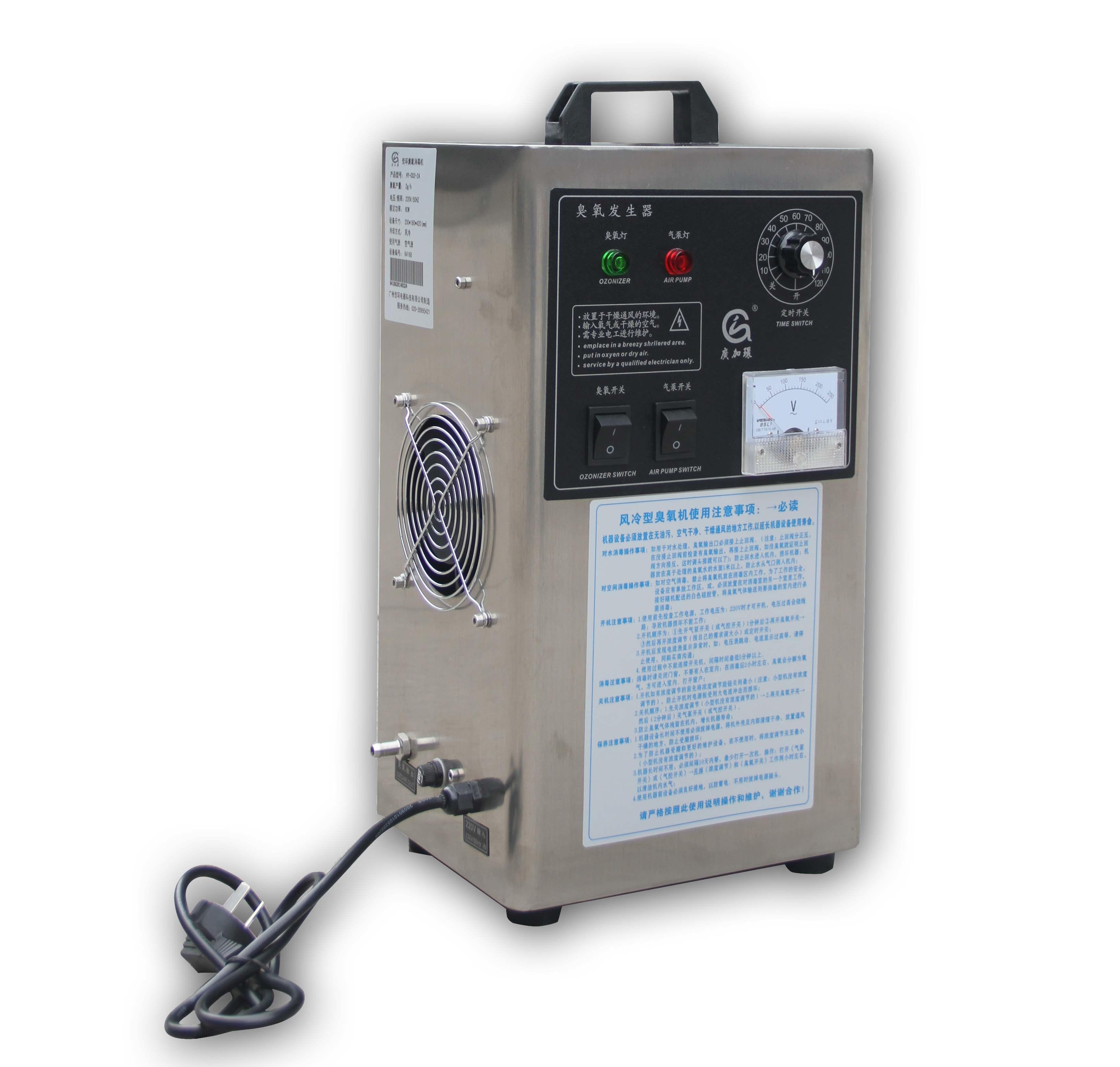 Home Use Ozone Generator Guangzhou Jiahuan Appliance Technology