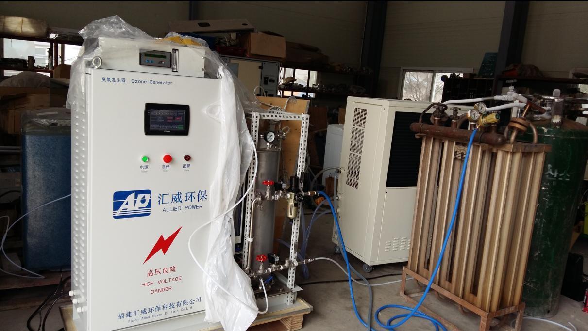 Ozone Odor Control in Municipal Sewage Wastewater